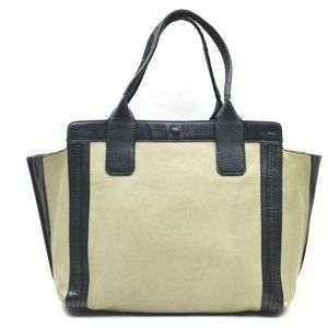 Auth Chloe Ally Hand Bag Leather Green #7932C72